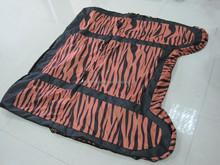 universal rear seat cover zebra printing