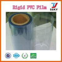 Environmental friendly pvc clear plastic rolls