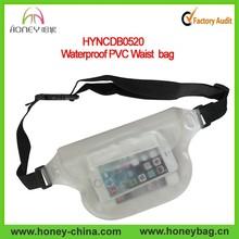 Durable and Hot Sell Beach Diving Waterproof PVC Waist Bag