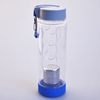 popular fruit infuser water bottle blue wholesale water bottle compartment