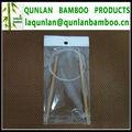 Natural Color Circulares agujas de tejer de bambú