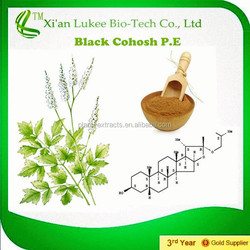 Black Cohosh Extract with 2.5%,5% Triterpene glycosides