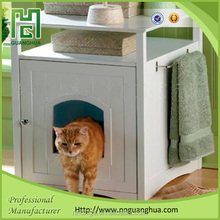 New design Hidden indoor pet accessories wooden cat furniture