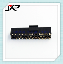2.54mm female header customized connector with optional cap