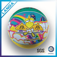 colorful mini size and weight rubber children basketballs size 1 2 3