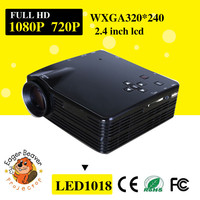 small lcd hd projector LED1018