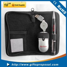 Mouse and Pen drive Portable Travel Gift Set For Laptop
