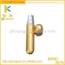 Golden spray glass bottles for perfume empty wholesale