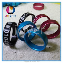 2015 Newest Colorful Homing Pigeon Rings fancy pigeon rings Bands Made From China Manufacture