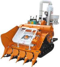 4LBZ-110 Small Machine Need Brokers Combine Harvester Crawler