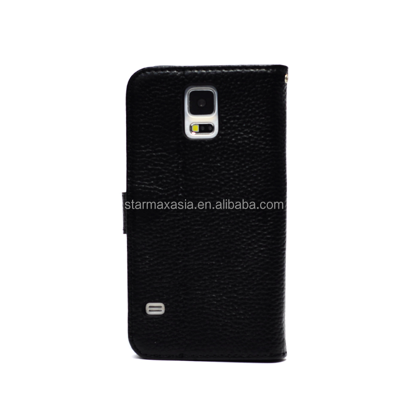 Genuine leather case for Samsung GALAXY S5