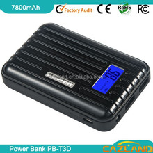 high quality with led light dual usb luggage box power bank/portable power bank& for laptop