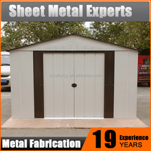 Quality China Exporter Cheap Storage Sheds Sale / Garden Sheds Metal Steel Garden House