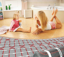 Used In The Bathroom CE Certificate Underfloor Heating Systems