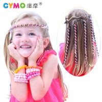 kids hair ornaments hair wrap spiral women hair accessories