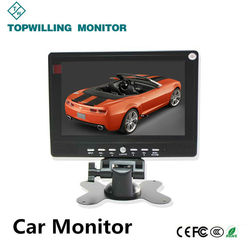 Table Stand 7 inch Mini LCD Monitor with Battery Powered