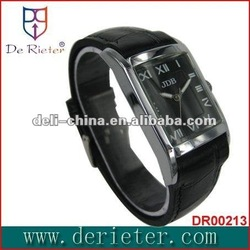 2012-2013 factory wholesale top 1 fashion watches men Promotional gifts watch gift paper bag