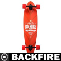 Backfire 2015 longboard professional maple wood
