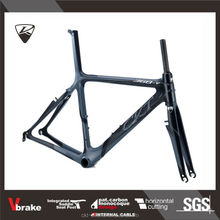 CKT 368V Black Gray Taiwan Carbon Road Racing Bike