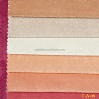 100% polyester knitting fabric/suede fabric for curtain /various color faux suede fabric