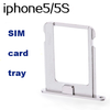 SIM Aluminum card tray for iphone 5, iphone 5s SIM card adapter