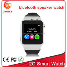 New model skype watch type mobile phone with camera and 2G SIM card slot
