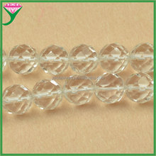 AAA quality size 3mm 6mm 8mm 10mm 12mm 14mm 16mm semi precious stone transparent natural rock crystal quartz loose faceted beads