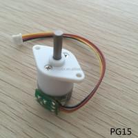 15mm stepper gear motor 5v micro motor