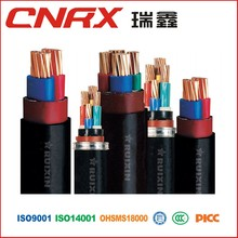 Made in China Ruixin Group 0.6/1kv 4 core 4mm under armour sports wear aluminium PVC Insulated electrical power cable