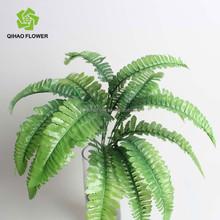 Decorative fake leaf hot sale,wholesale artificial plant leaf for garden