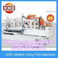 alta velocidade automático de três camadas de plástico pe stretch film máquina extrusora de sopro