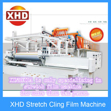 Automatic High Speed Three layers PE plastic stretch film extruder blowing machine