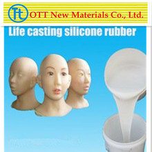 Medical Grade Life Casting Silicone Rubber producer