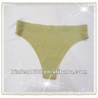 Women's Sexy Seamless Solid Color Panty