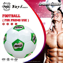 good price football, colorful design with NESTLE MILO promotion