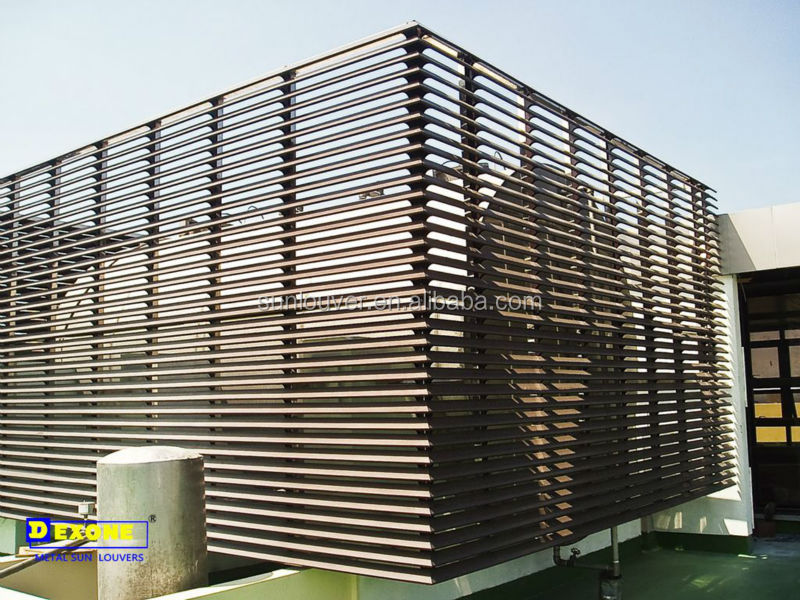 Aluminum Exterior Louver Shade For Facade Louver Buy Exterior Louver Shade