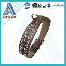 Top quality protect genuine leather with studs