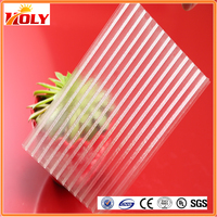 New style, transparent multiwall hollow polycarbonate roofing sheet