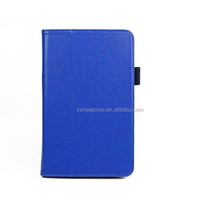 new design 7 inch side flip leather case for tablet PC