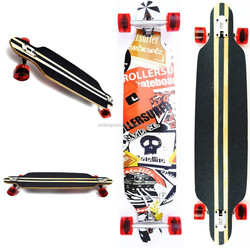"""New Sector 9 Lookout Bamboo 42"""" Drop Thru Complete Longboard"""