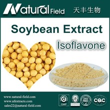 GMP 50% Soybean Extract /P.E Powder Manufacturer Isoflavones