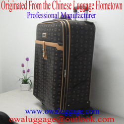 High Quality Leather Soft Luggage S-005