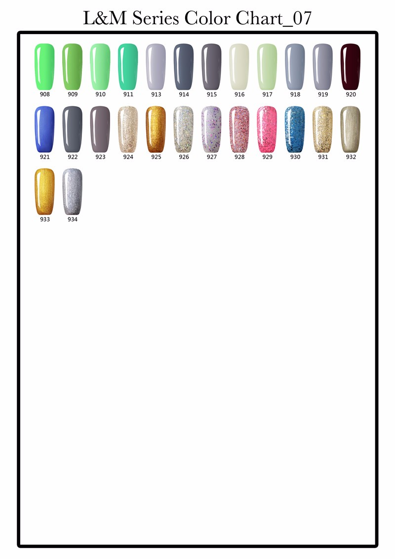 Lvmay Coloured UV Gel Polish Soak Off Gel Nail Polish China