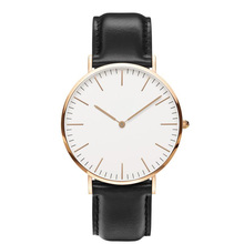 2015 luxury daniel wellington watch,mens wrist watches men brand watch,leather strap watch
