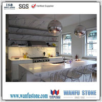 Calacata gold marble stone kitchen counter top & granite bar tops