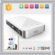 Smart Mini LED Digital proyector chip DMD Mali450, 1G CPU, 4G ROM