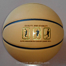 Size 7 New moisture - absorbing PU heat laminated quality match play basketballs