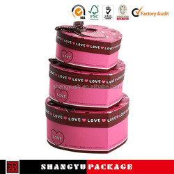 wholesale customized high quality paepr wedding cake box design