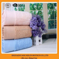 yarn dyed cotton pastel color door gift towel