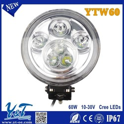 New model 4x4 accessories for tractor led car work light 60w led work light truck lights for auto accessories